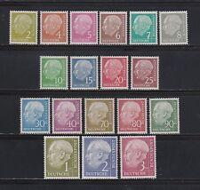 Briefmarken aus der BRD (1948-1954) mit Politiker-Motiv