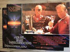 2 Rare Original Spanish , STAR TREK VI: THE UNDISCOVERED COUNTRY Posters