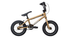 "2019 Fit Bike Co Misfit 12 Gold 13.25 Complete Bmx Bike 13.25"" S&M"
