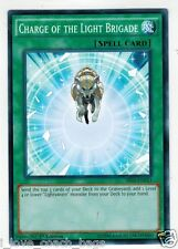 Charge of the Light Brigade SR02-EN033 1st  X 3 Mint  YUGIOH
