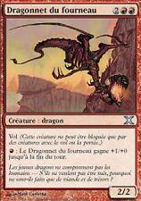 *MRM* FR 4x Dragonnet du fourneau ( Furnace Whelp) MTG 10th edition