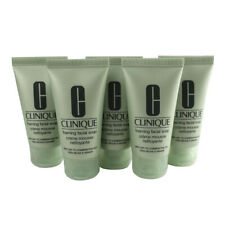 Clinique Foaming Facial Soap Very Dry to Comb. Oily Skin, 5 x 1oz ea. - SEALED