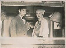 PARIS c. 1930 - Duc et Duchesse de Brabant Léopold III Astrid de Suède - PRM 262