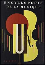 Encyclopédie de la musique (3 volumes) [Broché] Collectif
