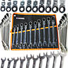 Ratchet Spanner Set 10pc Combi Flexi Metric Flexible 10 - 19mm Ratchet Wrench