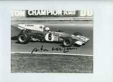 Arturo Merzario Ferrari 312 B2 di British Grand Prix 1972 firmato fotografia 4