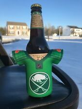 Sabres Beer Koozie Irish Celtic Jersey NHL Network St. Patrick's Day Paddy's NEW