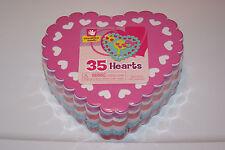 New 35 Heart Valentine's Sheet Kids Craft Teacher Art Foam Free Shipp! Help Bcr!