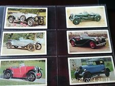 doncella cigarette cards golden age of motoring 14 cards see list