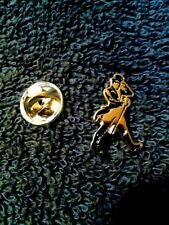 Johnnie walker Black scotch whiskey metal tie pin lot of 6 new