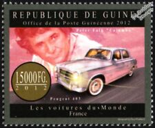 "PEUGEOT 403 (& Peter Falk ""Columbo"") French Car Stamp (2012 Guinea)"