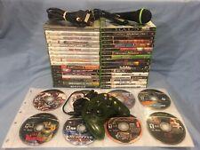 42 Games for the Original XBOX plus 1 Green Halo Controller & More