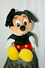 "NWT Vintage Disneyland Disney World 17"" Mickey Mouse Hugging Plush Toy"