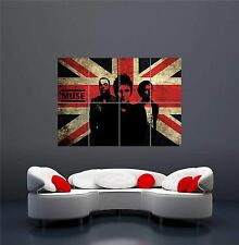 MUSE ROCK BAND UK MUSIC UNION JACK NEW GIANT WALL ART PRINT POSTER OZ349