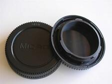 OLYMPUS PANASONIC MICRO 4/3 FITTING BODY AND REAR LENS CAP SET