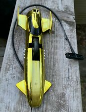 Vintage Kenner SSP 1970 Laker Special with pull cord-metallic gold