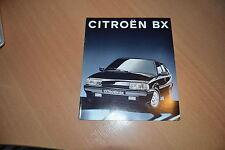 CATALOGUE Citroën BX de 1993 10 pages