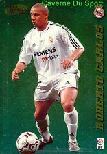 370 ROBERTO CARLOS BRAZIL REAL MADRID.CF CARD LIGA 2005 PANINI