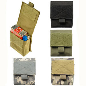 Tactical Molle Waist Pack Bag Utility EDC Pouch Military Army Accessories Bags