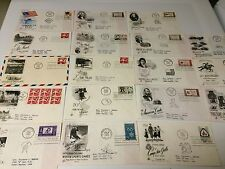FIRST DAY COVERS FDCs OR POSTAL COVERS 1960 LOT OF 18