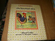 The Speckledy Hen by Alison Uttley,Hardcover Book,Good-Shape,1986.