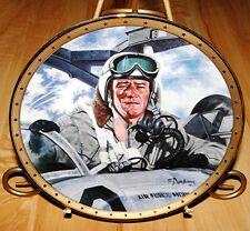 John Wayne, Tribute To Jet Pilots, The Franklin Mint Military War Plate