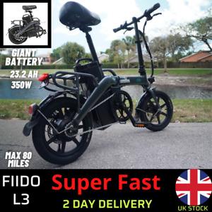 *** FIIDO L3 * 23.2AH 48V 350W FOLDING ELECTRIC BIKE  *350W MOTOR* e-bike batter