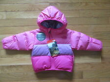 NORTH FACE INFANT GIRLS REV MOONDOGGY JACKET, CHA CHA PINK, NWT $99, 3-6 MONTHS