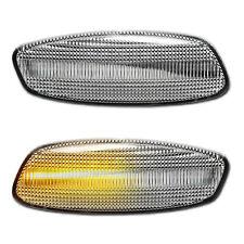 WEISSE dynamische LED Seitenblinker Spiegel Citroen C3 C4 Picasso C5 DS3 DS4
