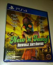 Oddworld New n 'Tasty ps4 Limited run Sealed