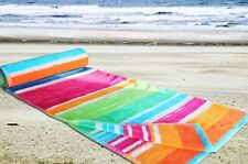 Extra Large Beach Towel - 100% Cotton Velour Bath Sheet Holidays Jumbo