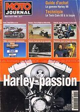 MOTO JOURNAL HS HARLEY DAVIDSON PASSION 1999 Road Glide Evel KNIEVEL BUELL X1