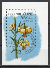 Guinea-Bissau: Block 278 gestempelt  Lilien