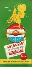 1960 Portfolio of Autokaart Maps - The Netherlands - Great Condition