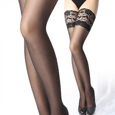 Women Sexy Lace Top Stay Up Thigh High Stockings Nightclubs Pantyhose Long Socks