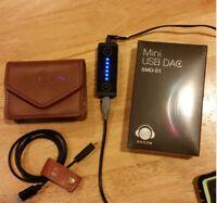BOOOM USB DAC Headphone Amplifier- Black