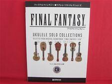 Final Fantasy Ukulele Solo Collections Ukulele Sheet Music Collection Book w/CD
