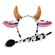 Alas, colas, orejas y narices color principal blanco para disfraces y ropa de época