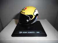 CGP 36 KENNY ROBERTS 1980 CASCO MOTO BIKE GP COLLECTION HELMETS ALTAYA IXO 1/5