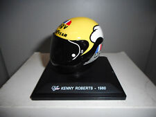 CGP 36 KENNY ROBERTS 1980 CASCO MOTO BIKE GP COLLECTION HELMETS ALTAYA IXO 1/5