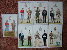 THE BRITISH ARMY SERIES - THE SUPPORT ARMS & SERVICES (3).  6 card set. Mint.