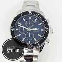 Hugo Boss Men's Ocean Edition Silver Blue Watch HB1513704 2 Years Warranty