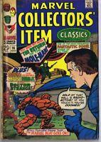 Marvel Collector's Item #16 ORIGINAL Vintage 1968 w/ Silver Surfer #1 AD Inside