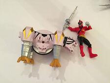 Power Rangers super samurai zord and figure play set white tiger