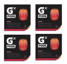 Gatorade GX Pods Fruit Punch 4 PACKS - 16 PODS TOTAL
