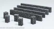 WWG Stone Wall And Pillars Sections - Wargames Warlord Warhammer 25 - 28mm
