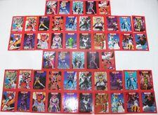 I CAVALIERI DELLO ZODIACO - 2 serie delle 25 carte PERSONAGGI - foil e normali