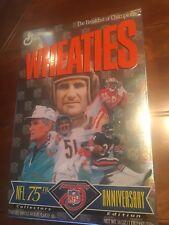 NFL 75th Anniversary Wheaties Box unopened - EX condition