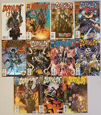 Deathlok lot of 11 comics 1 2 3 5 6 7 8 9 10 11 + 1 white variant (Marvel 1999)