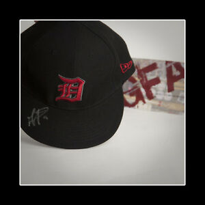 Gerald Laird Detroit Tigers Signed Autographed Fitted Hat COA GFA